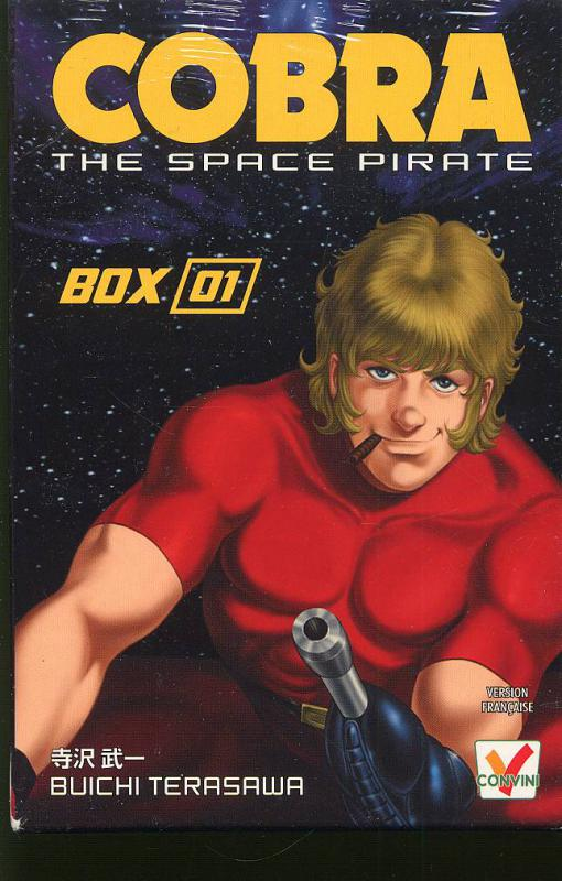 Cobra The Space Pirate Coffret Tomes 1 A 5 Buichi Terasawa Shonen Canal Bd