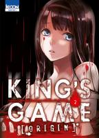 Rayon : Manga (Seinen), Série : King's Game : Origin T2, King's Game : Origin