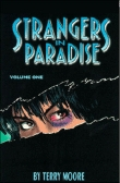 Rayon : Comics (Drame), Série : Strangers in Paradise (Série 1) T1, Strangers in Paradise