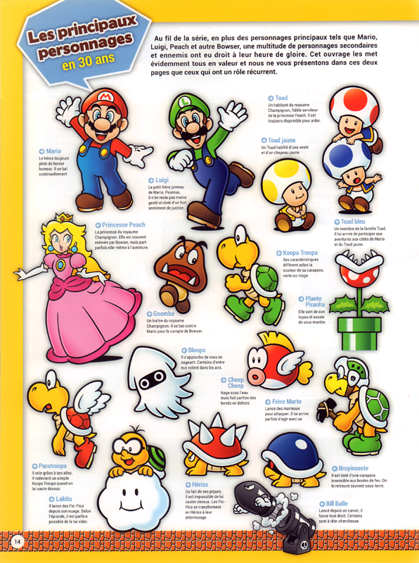 Serie Super Mario Encyclopedia 1985 2015 Canal Bd