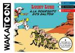 Rayon : Albums (Art-illustration), Série : Wakatoon, Lucky Luke : À La Poursuite des Dalton (Coloriages)