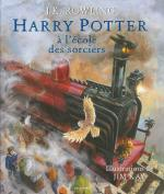 Rayon : Jeunesse (Fantastique), Série : Harry Potter (Roman Illustré) T1, Harry Potter à l'École des Sorciers (Roman Illustré)
