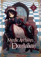 Rayon : Manga (Gothic), Série : The Mystic Archives of Dantalian T2, The Mystic Archives of Dantalian