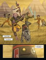 Rayon : Comics (Science-fiction), Série : Star Wars : Rebels T9, Star Wars : Rebels