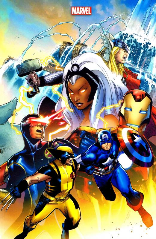 Avengers Vs X Men Couverture Variante John Romita Jr Ed Brubaker Matt Fraction Jason Aaron Jonathan Hickman Brian Michael Bendis Super Heros Canal Bd