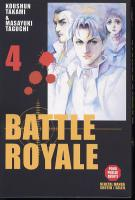 Rayon : Manga (Seinen), Série : Battle Royale T4, Battle Royale