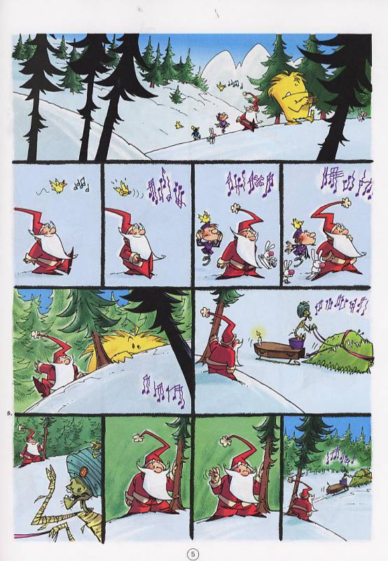 Serie petit pere noel canal bd - Image humoristique pere noel ...