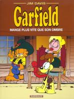 Rayon : Albums (Humour), S�rie : Garfield T34, Garfield Mange Plus Vite que Son Ombre
