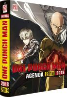 Rayon : Papeterie BD, Série : One-Punch Man (Agenda), One-Punch Man : Agenda 2018-2019