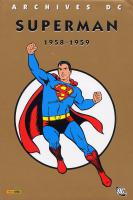 Rayon : Comics (Super Héros), Série : Superman T1, *Intégrale Superman 1958-1959
