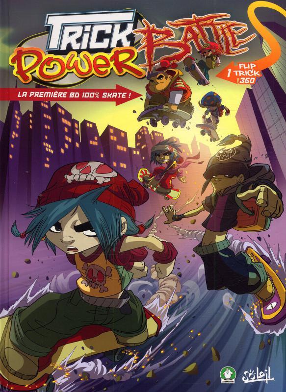 Serie Trick Power Battle Bd Cie Une Librairie Du