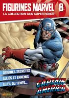 Rayon : Objets, Série : Figurines Marvel : Super-Héros T8, Figurines Marvel #8 : Captain America
