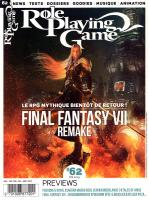 Rayon : Magazines BD (Heroic Fantasy-Magie), Série : Role Playing Game : Tout le RPG T62, Role Playing Game #62 : Juillet - Septembre 2019