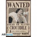 Rayon : Affiches, Série : One Piece, Wanted : Crocodile (35 x 52 cm)