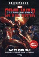 Rayon : Comics (Art-illustration), Série : Battle Book, Battle Book : Civil War Captain America (Livre Jeux)