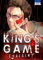 Rayon : Manga (Seinen), Série : King's Game : Origin T3, King's Game : Origin