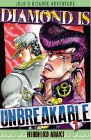 Rayon : Manga (Shonen), Série : Jojo's Bizarre Adventure : Diamond Is Unbreakable T1, Jojo's Bizarre Adventure : Diamond is Unbreakable