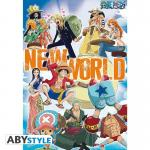 Rayon : Affiches, Série : One Piece, One Piece : New World Team (68 x 98 cm)