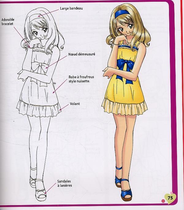 Comment dessiner des filles sh jo et des gar ons bishies chris hart art illustration - Comment dessiner des manga fille ...