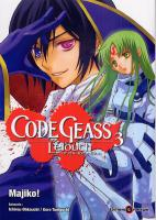 Rayon : Manga (Shonen), S�rie : Code Geass : Lelouch of the Rebellion T3, Code Geass Lelouch of the Rebellion
