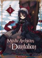 Rayon : Manga (Gothic), S�rie : The Mystic Archives of Dantalian T1, The Mystic Archives of Dantalian