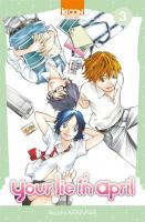Rayon : Manga (Shonen), Série : Your Lie in April T3, Your Lie in April