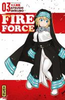 Rayon : Manga (Shonen), Série : Fire Force T3, Fire Force