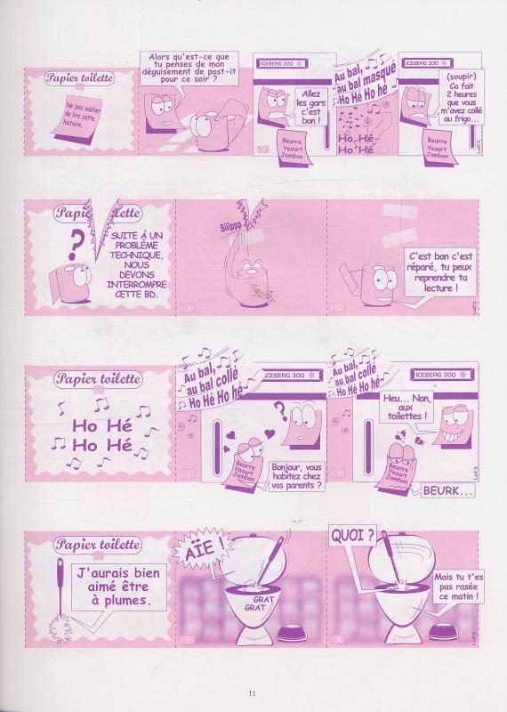 serie papier toilette librairie la bande dessine une. Black Bedroom Furniture Sets. Home Design Ideas
