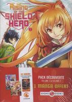 Rayon : Manga (Seinen), Série : The Rising of the Shield Hero, The Rising of the Shield Hero (Pack Découverte Tomes 1 & 2)