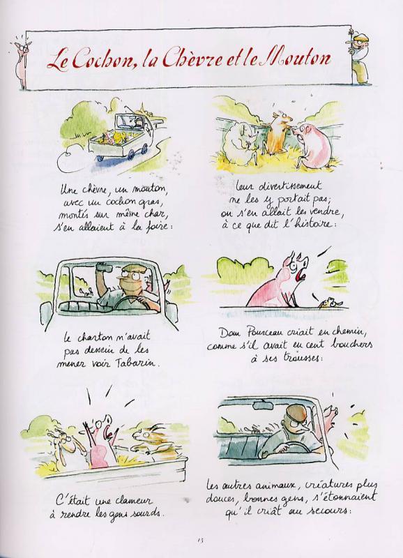 Serie la fontaine aux fables legend bd une librairie du for La fontaine aux cuisines
