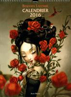 Rayon : Papeterie BD, Série : Benjamin Lacombe, Benjamin Lacombe : Calendrier 2016