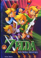 Rayon : Manga (Shonen), S�rie : The Legend of Zelda T8, Four Swords Adventures (1)