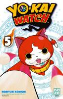 Rayon : Manga (Shonen), Série : Yo-Kai Watch T5, Yo-kai Watch
