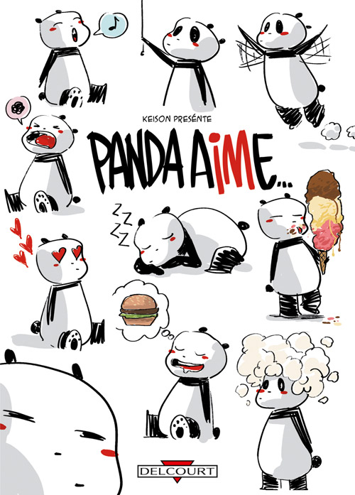 Panda Aime Keison Humour Canal Bd
