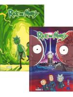 Rayon : Comics (Science-fiction), Série : Rick and Morty, Rick and Morty (Pack Découverte Tomes 1 & 2)
