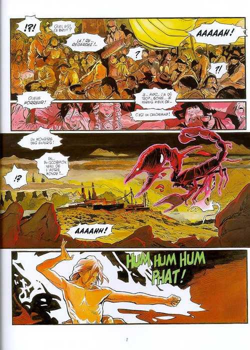 Serie Le Lama Blanc [ALADIN, une librairie du réseau Canal BD]