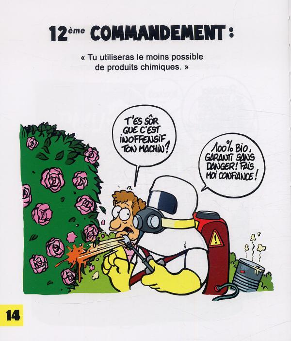 Serie les 40 commandements canal bd for Les meilleurs sites de jardinage