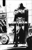 Rayon : Comics (Super Héros), Série : Batman : White Knight, Batman : White Knight (Édition Noir & Blanc)