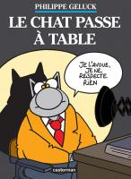 Rayon : Albums (Humour), Série : Le Chat T19, Coffret Le Chat Passe à Table 2 Volumes