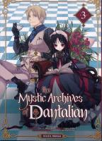 Rayon : Manga (Gothic), Série : The Mystic Archives of Dantalian T3, The Mystic Archives of Dantalian