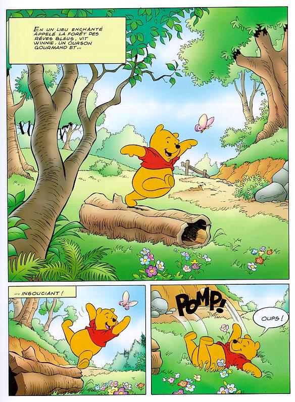 bande dessinee winnie l'ourson