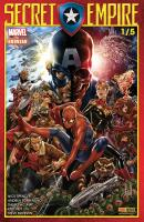 Rayon : Comics (Super Héros), Série : Secret Empire T1, Secret Empire (1/5) (Couverture 1/2)