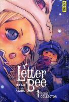 Rayon : Manga (Shonen), S�rie : Letter Bee T1, Coffret Collector Tome 1 + 5 Cartes Postales Exclusives