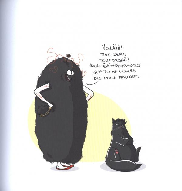 Chat Bouboule Nathalie Jomard Humour Canal Bd