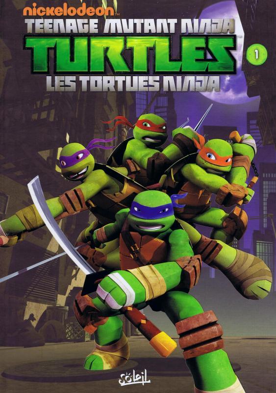 Serie teenage mutant ninja turtles les tortues ninja librairie la bande dessin e une - Image de tortue ninja ...