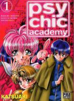 Rayon : Manga (Shonen), S�rie : Psychic Academy T1, Psychic Academy