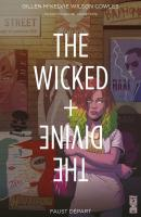Rayon : Comics (Fantastique), Série : The Wicked + The Divine T1, Faust Départ (Couverture Variante)