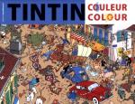 Rayon : Albums (Art-illustration), Série : Tintin Couleur Colour, Tintin Couleur Colour (Couverture Bleue) (Coloriage)