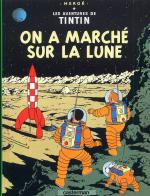 Rayon : Albums (Aventure-Action), S�rie : Tintin T17, On a March� sur la Lune (Petit Format)