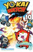 Rayon : Manga (Shonen), Série : Yo-Kai Watch T10, Yo-Kai Watch